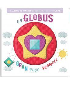 LLIBRE DE FINESTRES - UN GLOBUS GRAN, RODÓ I VERMELL