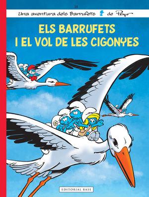 ELS BARRUFETS I EL VOL DE LES CIGONYES