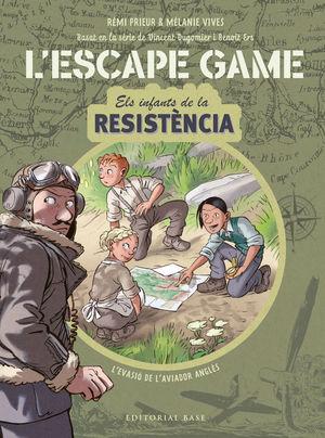 ESCAPE GAME. INFANTS DE LA RESISTÈNCIA . L'EVASIÓ DE L'AVIADOR ANGLÈS