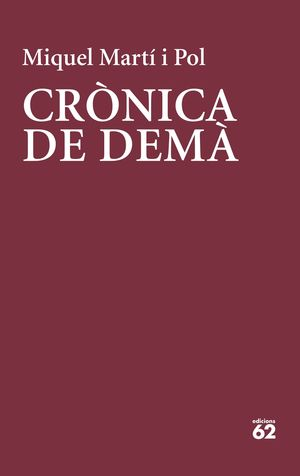 CRÓNICA DE DEMÀ