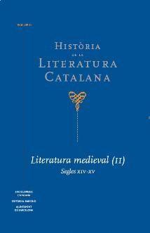 HISTÒRIA DE LA LITERATURA CATALANA VOL.2 : LITERATURA MEDIAVAL (2). SEGLES XIV-XV