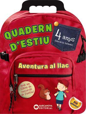 QUADERN D'ESTIU. AVENTURA AL LLAC 4 ANYS