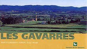 LES GAVARRES MAPA