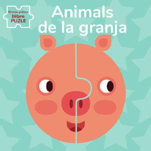 ANIMALS DE GRANJA. EL MEU PRIMER LLIBRE PUZLE (VVK
