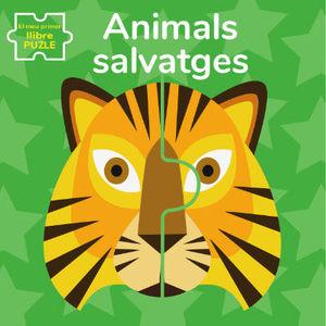 ANIMALS SALVATGES. EL MEU PRIMER LLIBRE PUZLE (VVKIDS)