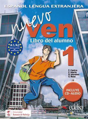 NUEVO VEN 1 - LIBRO DEL ALUMNO + CD AUDIO