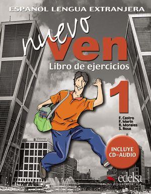 NUEVO VEN 1 - LIBRO DE EJERCICIOS + CD AUDIO