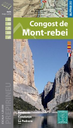 CONGOST DE MONT-REBEI [MAPA] 1:20.000 -ALPINA