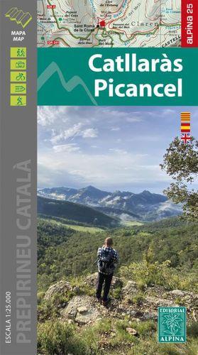 CATLLARAS PICANCEL 1:25.000 -ALPINA
