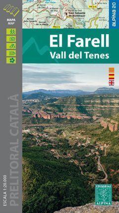 EL FARELL 1:20.000 LA VALL DEL TENES -ALPINA