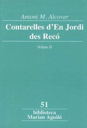 CONTARELLES D'EN JORDI DES RECÓ