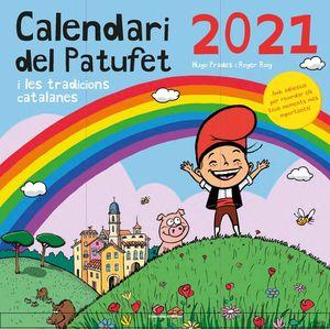 CALENDARI DEL PATUFET 2021 I LES TRADICIONS CATALA