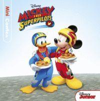 MICKEY I ELS SUPERPILOTS. MINICONTES