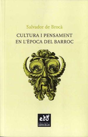 CULTURA I PENSAMENT EN L´ÈPOCA DEL BARROC