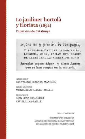 LO JARDINER HORTOLÀ Y FLORISTA (1852)