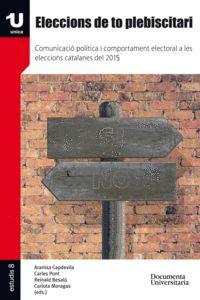 ELECCIONS DE TO PLEBISCITARI