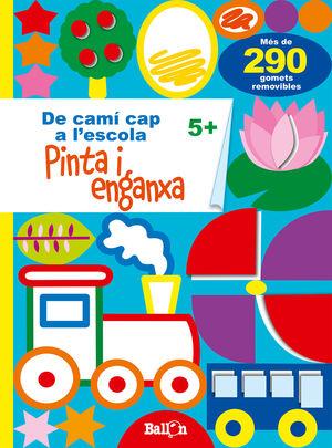 PINTA I ENGANXA 5+ DE CAMI CAP A ESCOLA