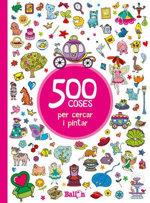500 COSES PER CERCAR I PINTAR VERMELL